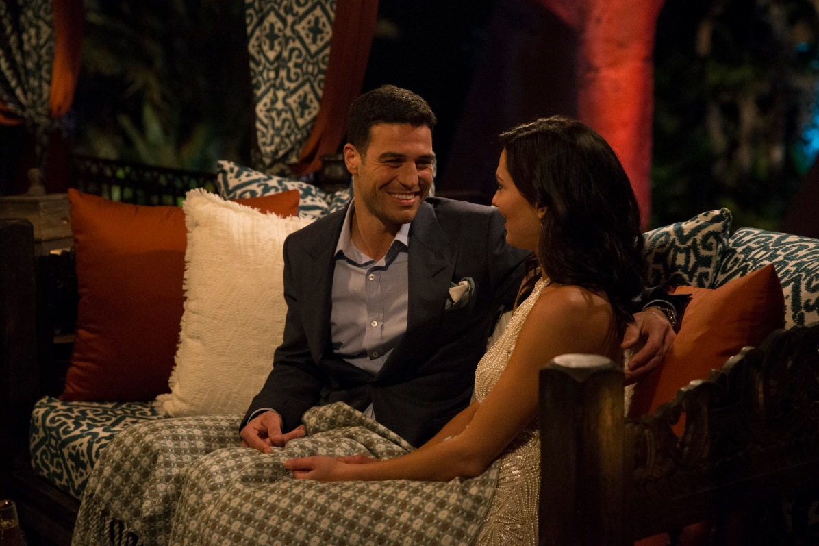 Ah, sweet Joe. Honestly, I was so smitten with him throughout the episode and quite devastated that she sent him home. There's been a big outpouring of support so... hopefully he'll be on Bachelor in Paradise for all the girls to swoon over (and share some watermelon drinks with).