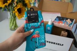 K. Bell Flock Crew Socks ($12) SinglesSwag May 2018 box Photo cred: Lauren Chancellor