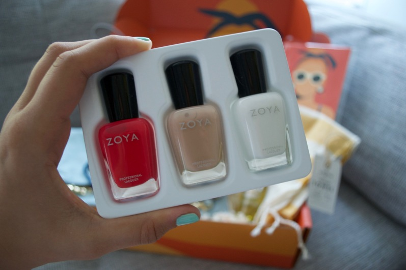 Causebox Summer 2018 - Zoya Nail Polish