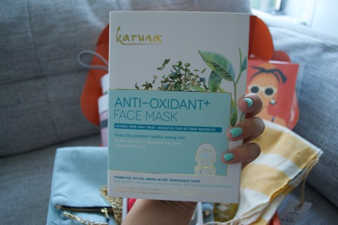 Causebox Summer 2018 - Karuna Face Mask