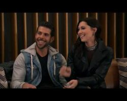 Chris and Becca sit down for song-writing lessons