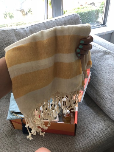 Causebox Summer 2018 - Fair Seas Supply Co Turkish Towel