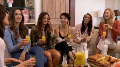 Honestly, I don't remember all of these girls names and the only two given much air time is Tia and Bekah (I hear Bachelor in Paradise bells!)