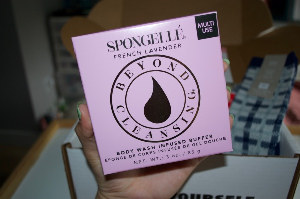 SinglesSwag August 2018 - Spongelle French Lavender Boxed Flower
