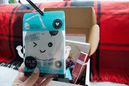 SinglesSwag Sept '18 - Oh K! Coconut Water Face Mask Set