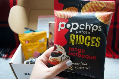 SinglesSwag Sept '18 - Popchips Ridges Tangy BBQ Potato Chips