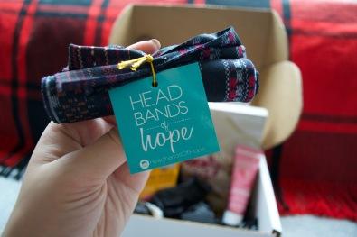 SinglesSwag Sept '18 - Headbands of Hope Heather Tube Turban